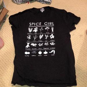 Spice girl suburban riot tee